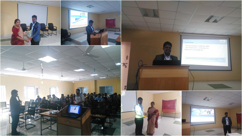 Guest lecture on Ultrasound Application Specialist Siemens – Ultrasound Applications Specialist