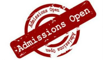 Admissions Open 2018-2019