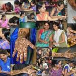 MEHANDI STUDENTS - AAROHANA 2K16L