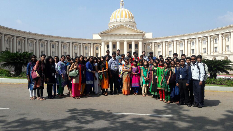 Industrial Visit – Infosys Campus, Mysore | ACSCE