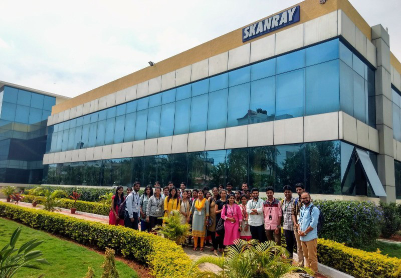 Industrial Visit To Skanray Technologies Acsce