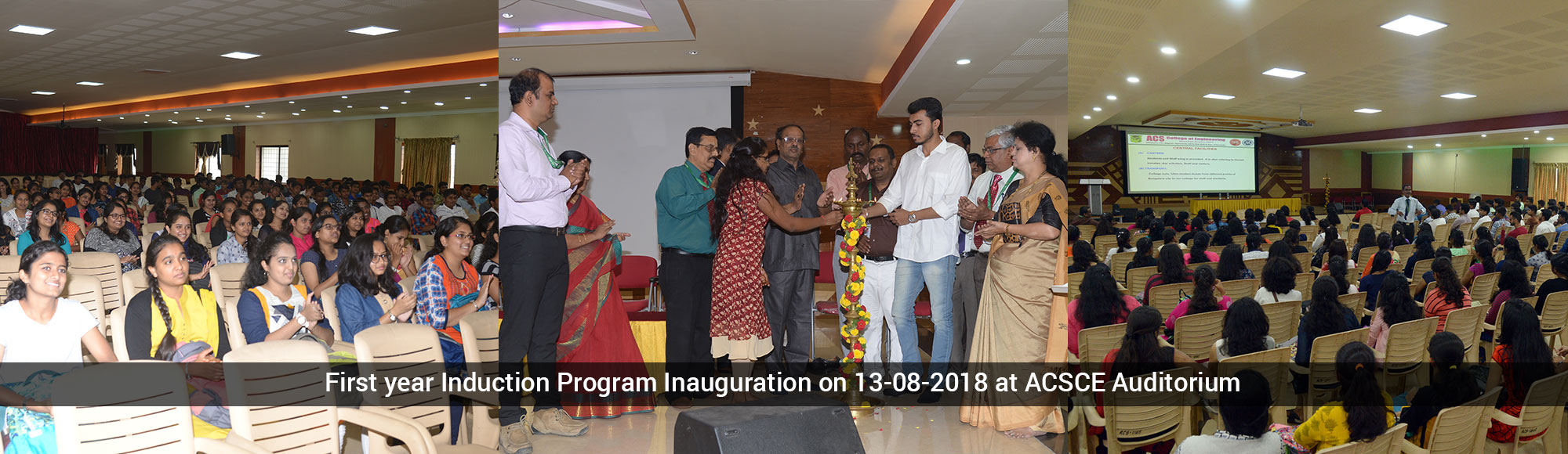 Induction Program Inauguration
