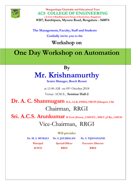 Workshop_Automation