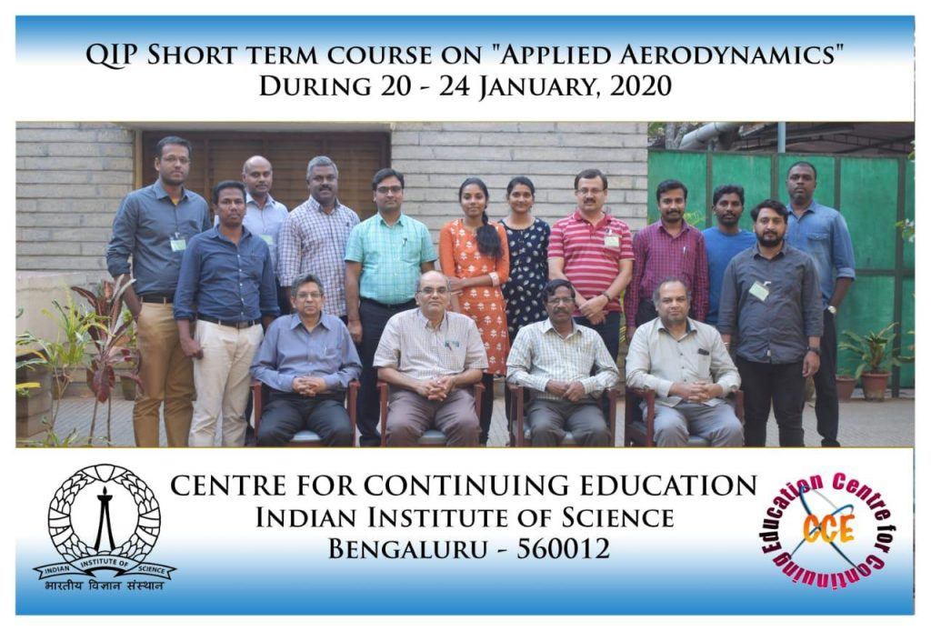 Dean COE AS-AE Resource Person at IISC Applied Aerodynamics Course