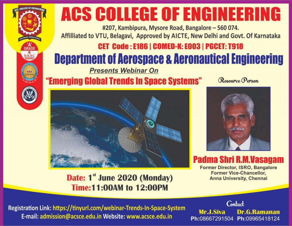 Emerging Global Trends in Space Systems