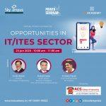 Career Opportunities in IT & ITES