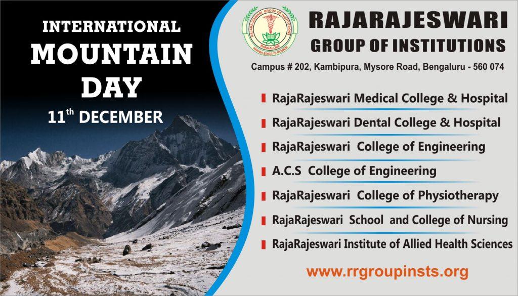 International Mountain Day 2020