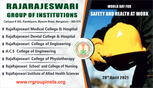 28th april RRGI World Day for Safety and Health at work