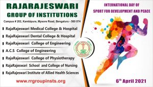 6th april International Day of Sport for Development and Peace RRGI