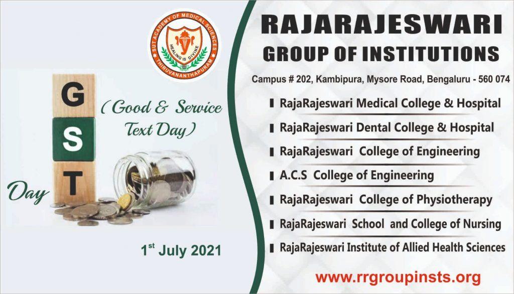 GST Day 1st July RRGI