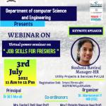 Job skill webinar