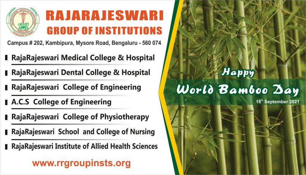 Happy World bamboo day 21 RRGI