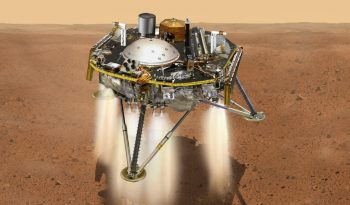NASA'S INSIGHT LANDS ON MARS
